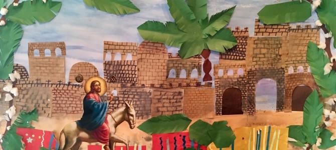 ПОЗДРАВЛЯЕМ ВСЕХ С ПРАЗДНИКОМ ВХОДА ГОСПОДНЯ В ИЕРУСАЛИМ!