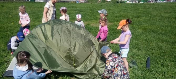 12 мая у ребят из Воскресной школы прошёл Турслет!