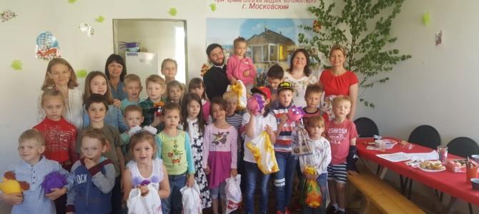 В воскресной школе прошел праздник посвященный дню Святой Троицы!