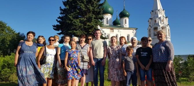 Паломническая поездка по святыням Ярославской области