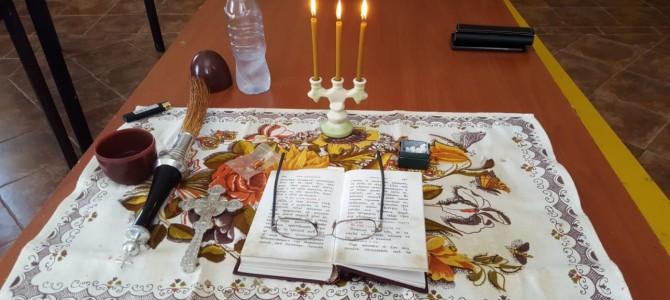 Освящение помещений для Воскресной школы нашего храма