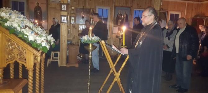 Мариино стояние — утреня с чтением канона Андрея Критского