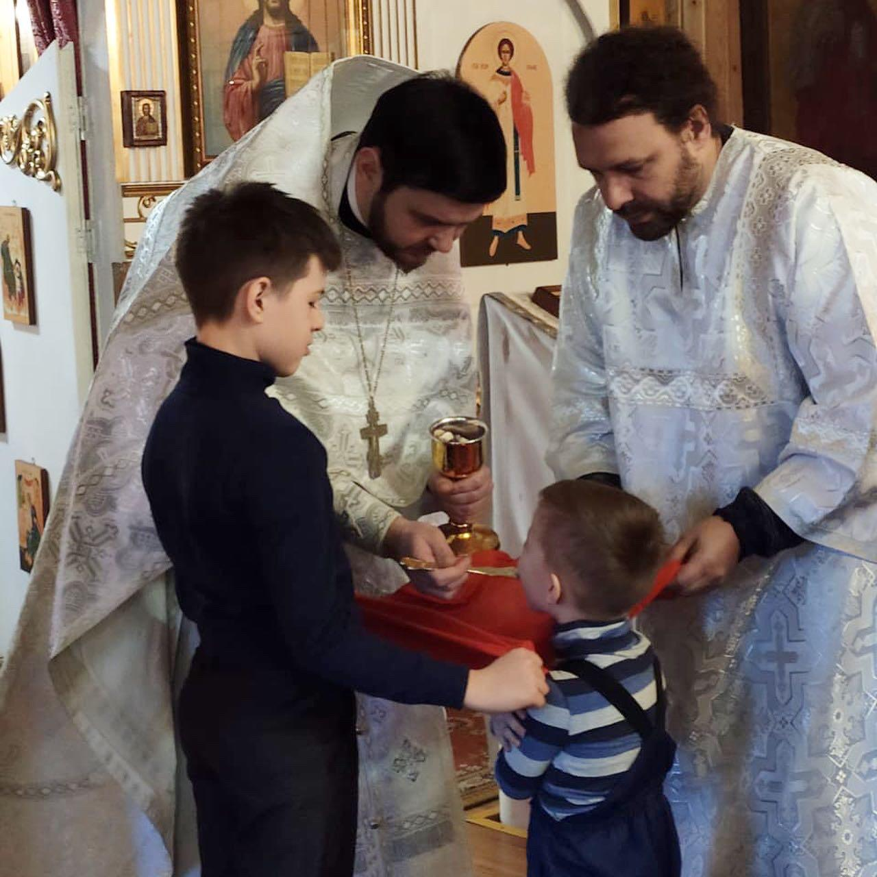 Праздничные богослужения на Крещение